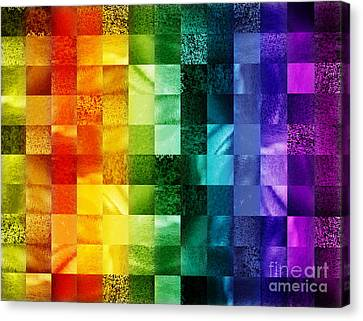 Another Kind Of Rainbow Canvas Print by Irina Sztukowski