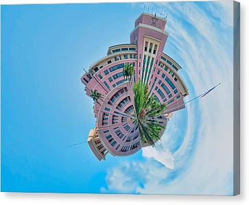 Another View Of Planet Tripler Canvas Print by Dan McManus