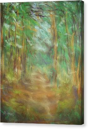 Another Way Canvas Print by Shirley Moravec
