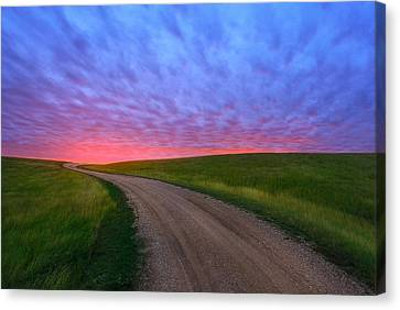 Canvas Print featuring the photograph Another Way To Heaven by Kadek Susanto