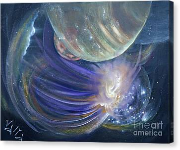 Another World10 Canvas Print by Valia US