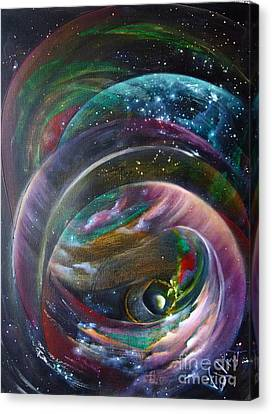 Another World13 Canvas Print by Valia US