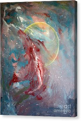 Another World3 Canvas Print by Valia US