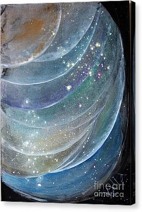 Another World6 Canvas Print by Valia US