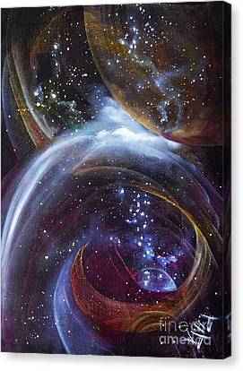 Another World9 Series Canvas Print by Valia US