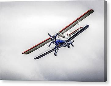 Transportion Canvas Print - Antanov In A Storm by Chris Smith