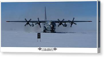Antarctic Hercules Canvas Print by David Barringhaus