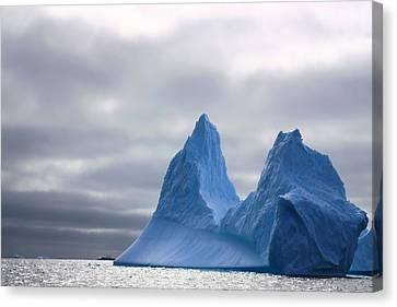 Antarctic Iceberg 2 Canvas Print by FireFlux Studios
