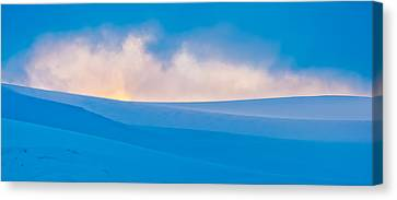 Antarctic Mist - Antarctica Sunset Photograph Canvas Print