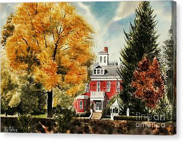 Fall Scenes Canvas Print - Antebellum Autumn II by Kip DeVore