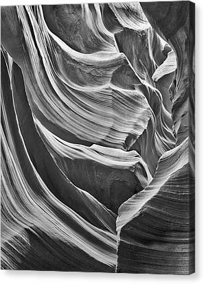 Antelope Arcade Lower Antelope Canyon Canvas Print by John Ford