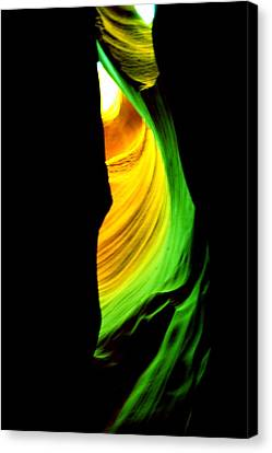 Antelope Canyon Abstract Canvas Print by Aidan Moran