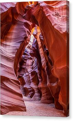 Antelope Canyon Arizona Canvas Print by Pierre Leclerc Photography