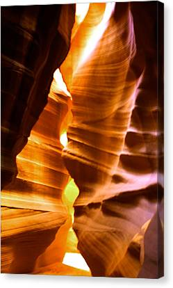 Antelope Canyon Page Arizona Canvas Print by Aidan Moran