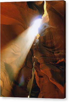 Antelope Canyon One Canvas Print by Joshua House