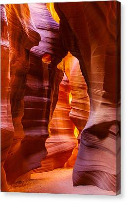 Antelope Canyon Canvas Print by Susan Schmitz