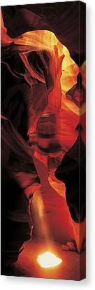 Antelope Canyon, Utah, Usa Canvas Print by Panoramic Images