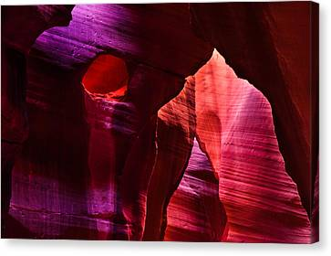 Antelope Canyon's Winnie The Pooh Canvas Print by Gregory Ballos