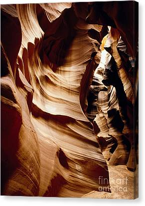 Antelope Cyn Cave Full View Canvas Print