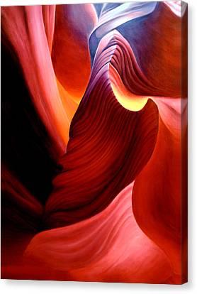 Antelope Magic Canvas Print by Anni Adkins