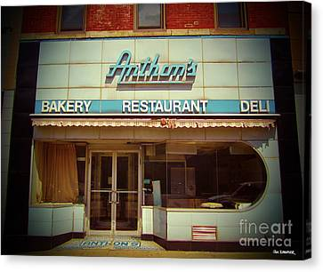 Anthon's Bakery Pittsburgh Canvas Print by Jim Zahniser