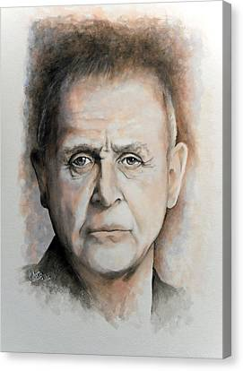 Anthony Hopkins Canvas Print by William Walts