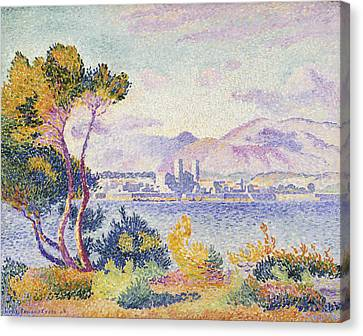 Port Town Canvas Print - Antibes Afternoon by Henri Edmond Cross