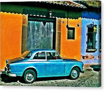 Antigua Volvo Canvas Print