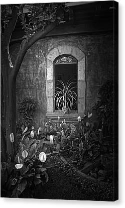 Antigua Window Canvas Print