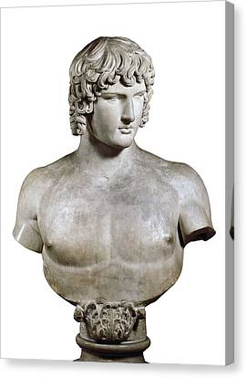 Antinous Or Antino�s. 2nd C. Bc. Roman Canvas Print
