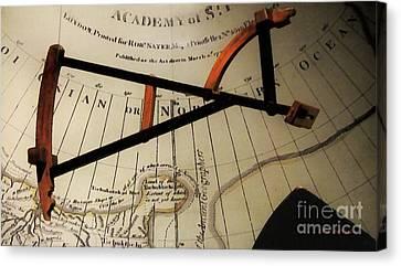 Antiquaria Nautica Canvas Print by RC deWinter