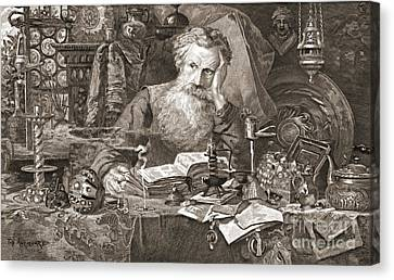Antiquary 1901 Canvas Print by Padre Art