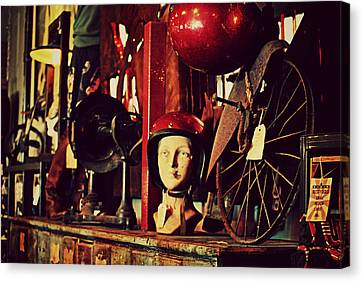 Nashville Tennessee Canvas Print - Antique Archaeology by Chastity Hoff