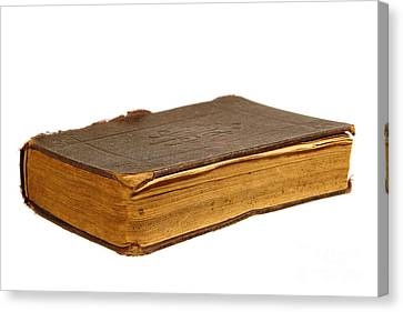 Antique Book Canvas Print by Olivier Le Queinec