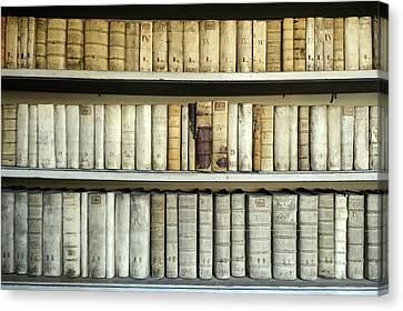 Antique Books Canvas Print by Bildagentur-online/mcphoto-schulz