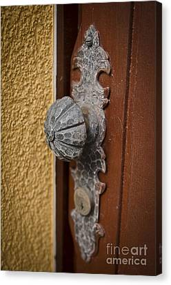 Antique Doorknob Canvas Print