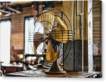 Antique Fan Canvas Print