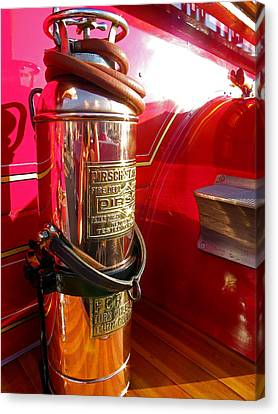 Antique Fire Extinguisher Canvas Print