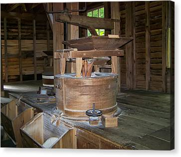 antique Grist Mill  Canvas Print by Chris Flees