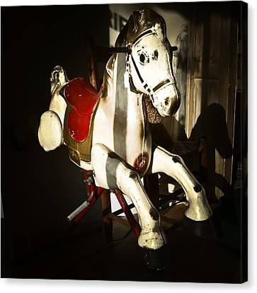 Antique Horse C Canvas Print by Patrick M Lynch