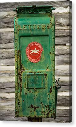 Antique Mailbox Canvas Print by Paul Freidlund