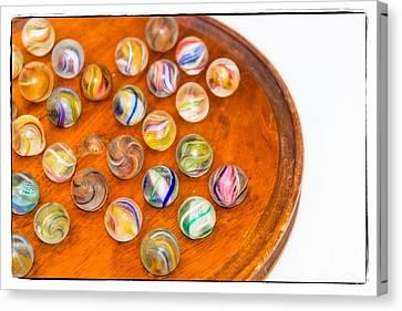 Antique Marbles - Vintage Toys Canvas Print