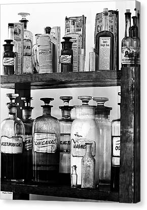 Antique Pharmacy Canvas Print by Phyllis Denton