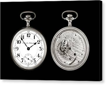 Antique Pocketwatch Canvas Print