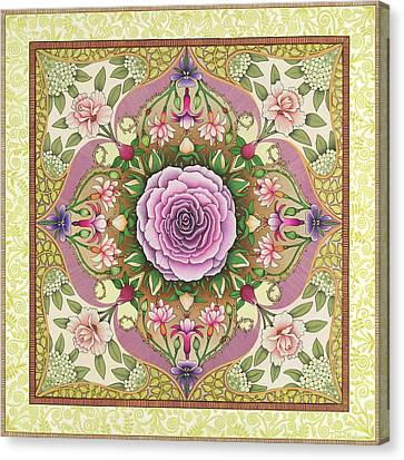 Antique Rose Canvas Print by Isobel  Brook Haslam