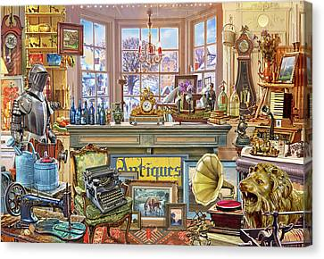 Antique Shoppe Canvas Print