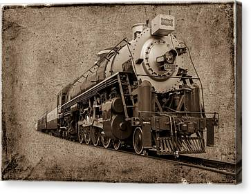 Antique Train Canvas Print by Doug Long