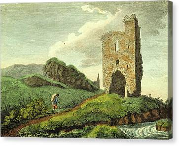 Antiquities Canvas Print - Antiquities Of The County Of Meath, Melifont Castle by Litz Collection