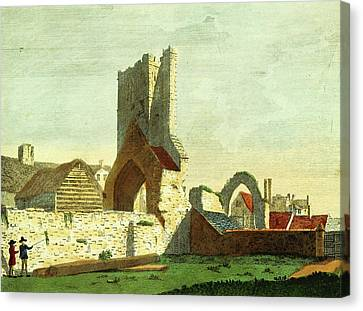 Antiquities Canvas Print - Antiquities Of The County Of Meath, St. Marys Drogheda by Litz Collection