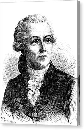 Antoine Lavoisier Canvas Print by Collection Abecasis